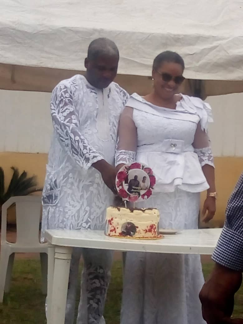 Photo of PHOTOS: Pastor's Wife Catches Husband In Secret Wedding With A Female Pastor