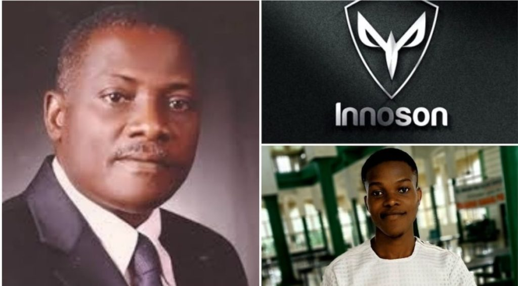 Photo of Innoson to meet with boy who re-designed IVM logo