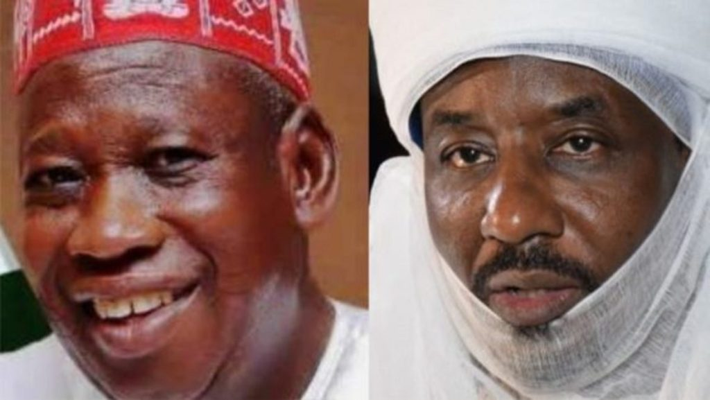 Photo of Ganduje seizes, demolished Land Worth N250m Belongs To Emir Sanusi