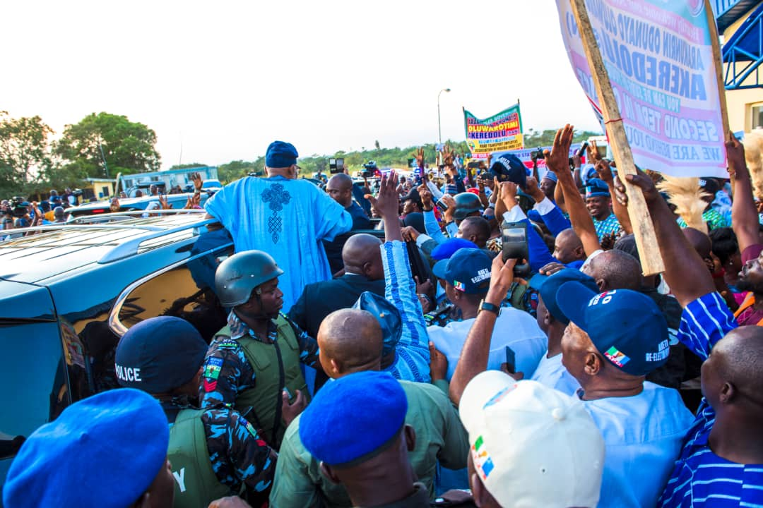 Photo of Ondo Agog As Governor Akeredolu Returns To Akure