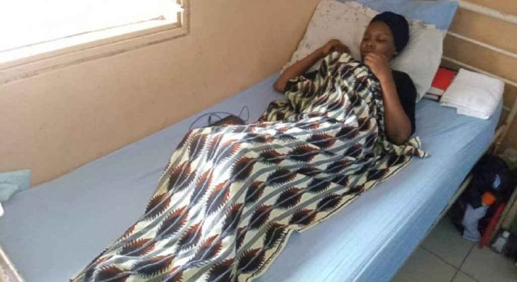 Photo of Kogi Guber Election: Lady hit by helicopter's bullet still in ICU