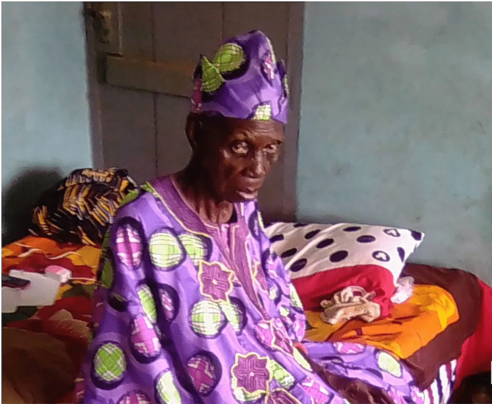 Photo of PHOTOS: Meet the oldest living Oyo monarch who became king at 102, now 140 years