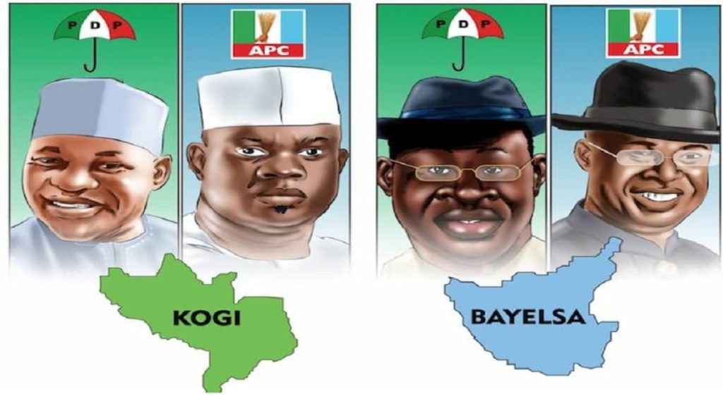 Kogi and bayelsa election
