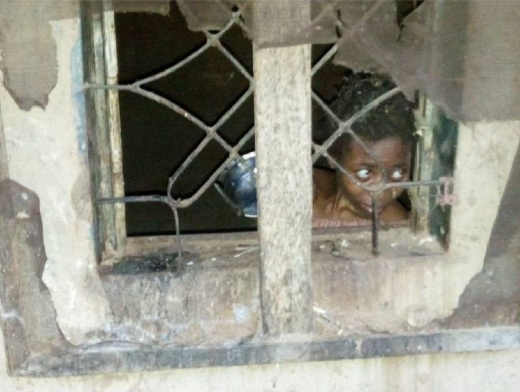 Photo of Police Rescued Mother of 4, Locked-up For Two Years By Brother In Kaduna