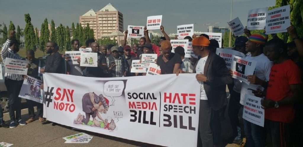 Photo of PHOTOS: Social Media Bill: Protesters Storm National Assembly