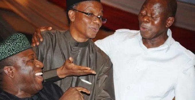 Fayemi, El-Rufai and Oshiomhole