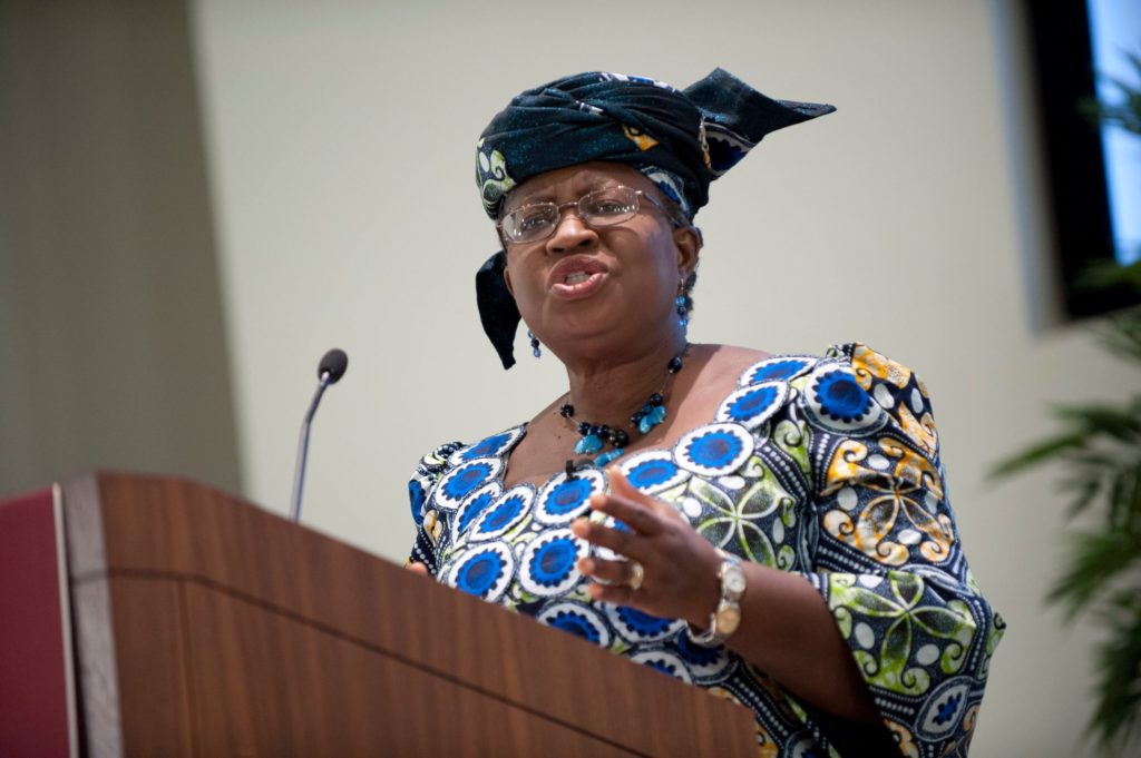 Photo of Okonjo-Iweala sends message to Buhari