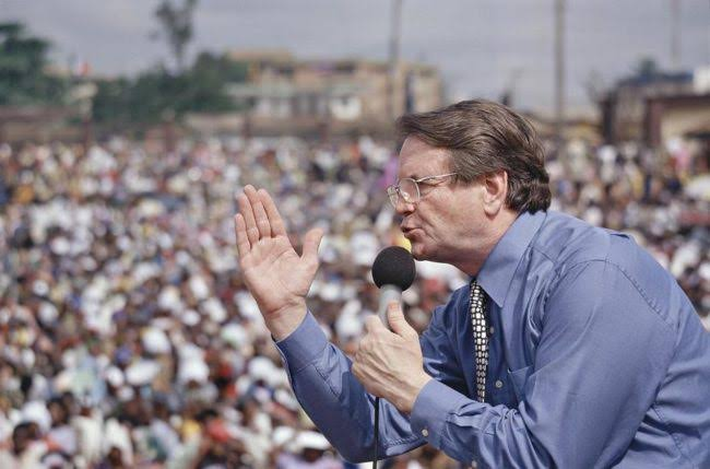 Photo of BREAKING: Popular Evangelist, Reinhard Bonnke, Is Dead