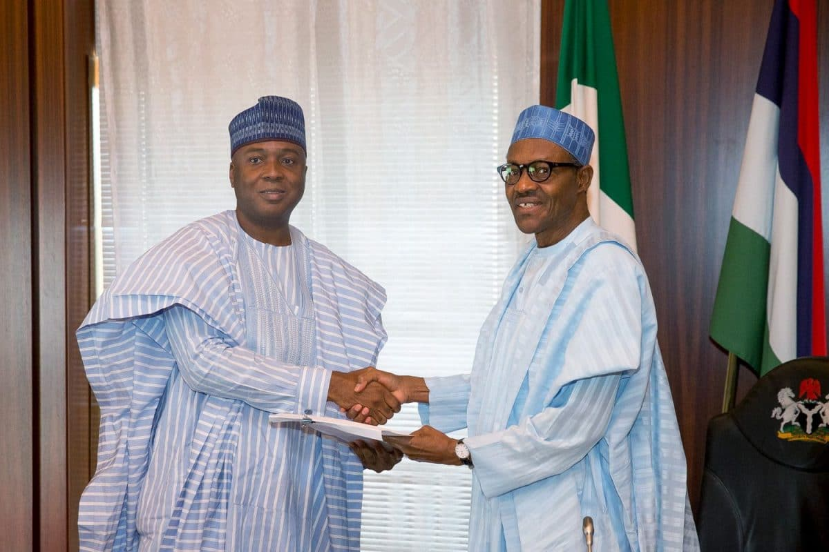 Photo of Election face-off lingers as Buhari, Saraki shun each other on birthday