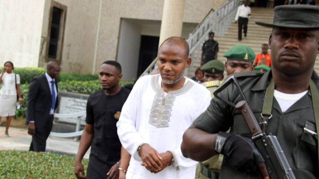 Photo of ECOWAS court gives ruling on Nnamdi Kanu's arrest, detention by FG