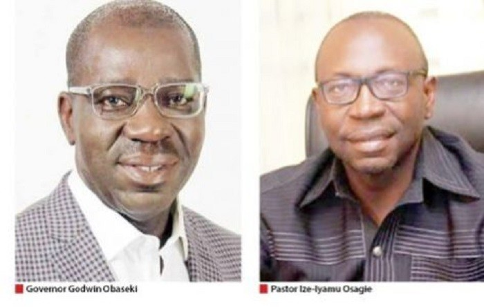 Photo of Edo Guber: Obaseki, Ize- Iyamu To Battle For APC Ticket