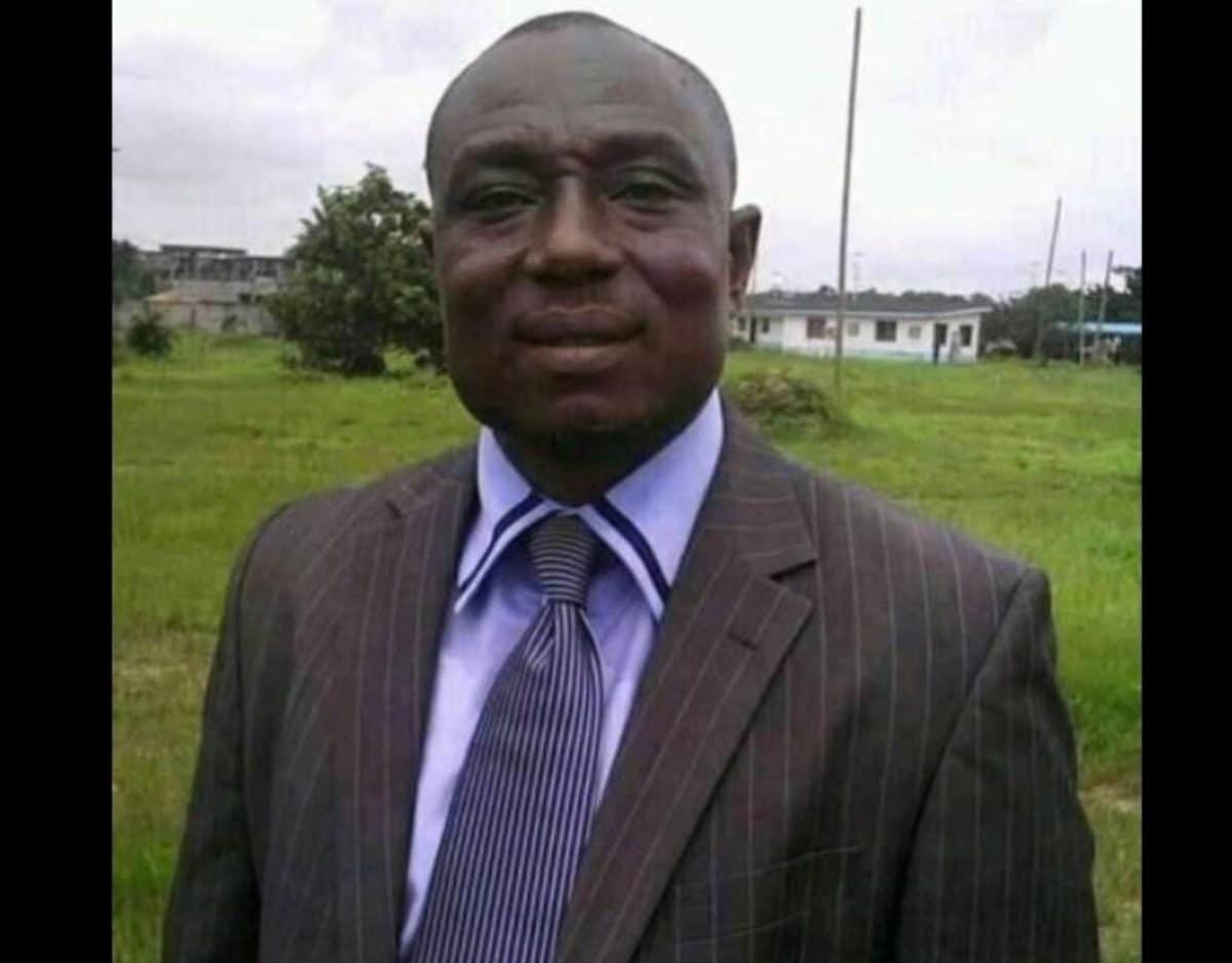Photo of Deputy Senate President, Omo-Agege's media aide, Asagba, is dead