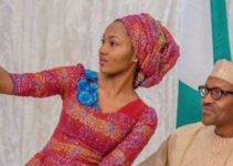 Zahra Buhari and his father