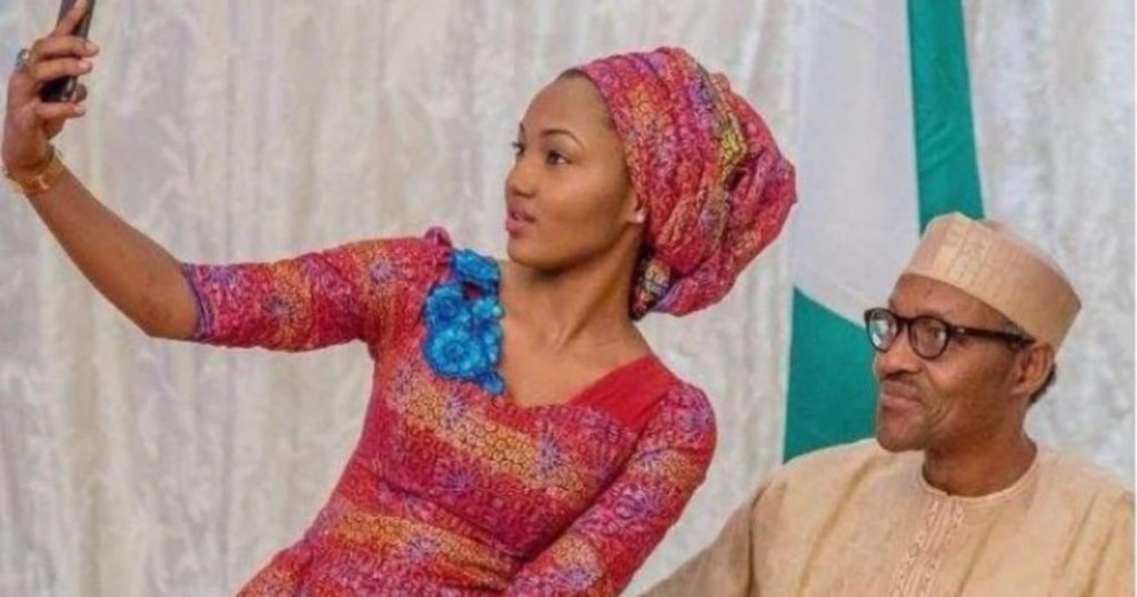 Photo of Buhari's daughter declares position on social media bill