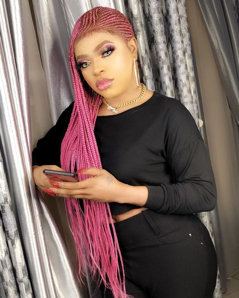 Photo of PHOTO: Bobrisky finally shows off his man