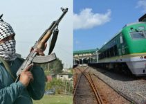 Gunmen attack train