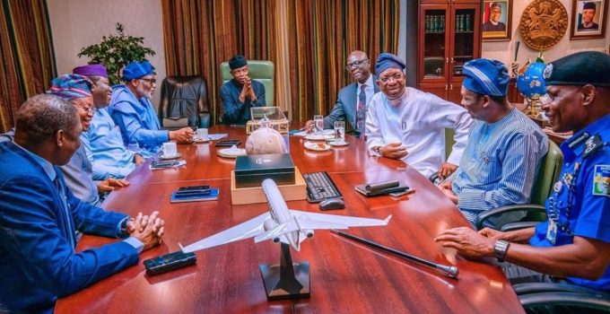 Osinbajo and governors