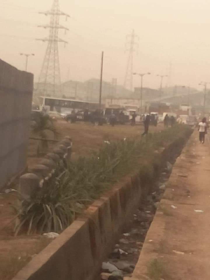 Photo of Police officers takes over venue of Amotekun solidarity walk in Lagos