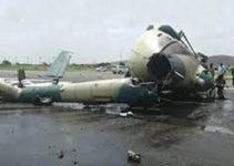military plane crashes