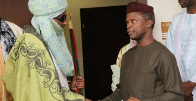 Sanusi and Osinbajo