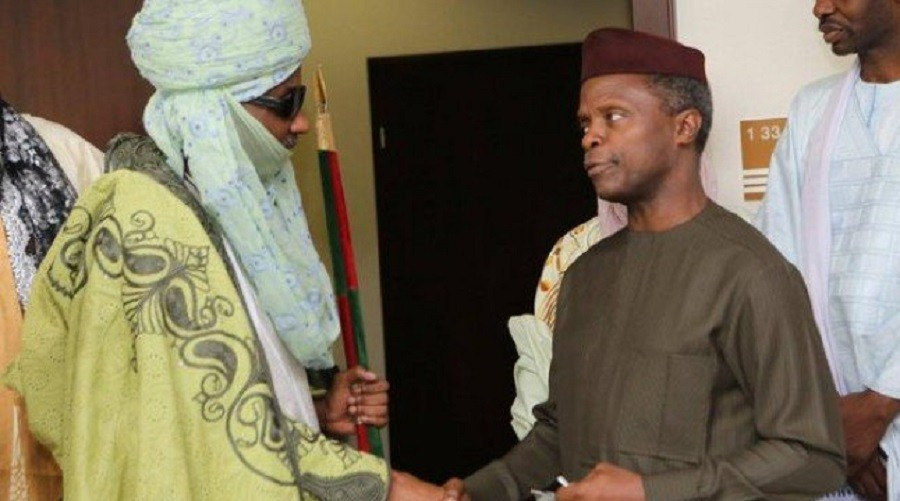 Photo of Emir Sanusi was sure Buhari will die in London, asked Osinbajo to make him Vice – Junaid alleges