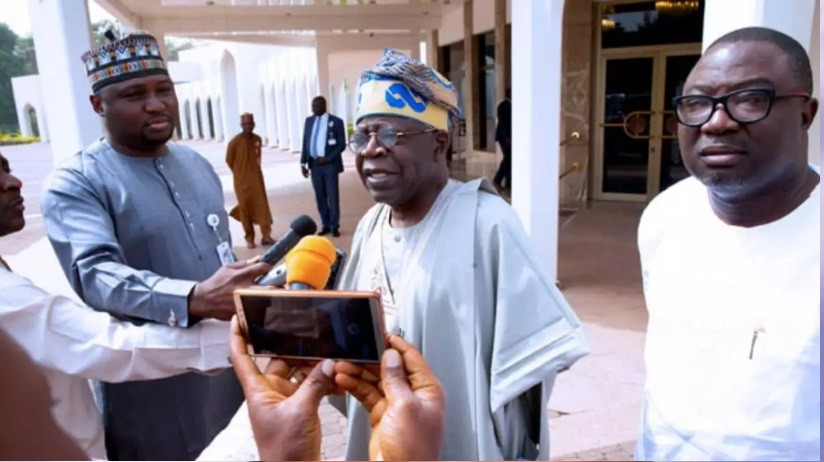Photo of Tinubu speaks on Buhari 'third term agenda', reveals discussion with President