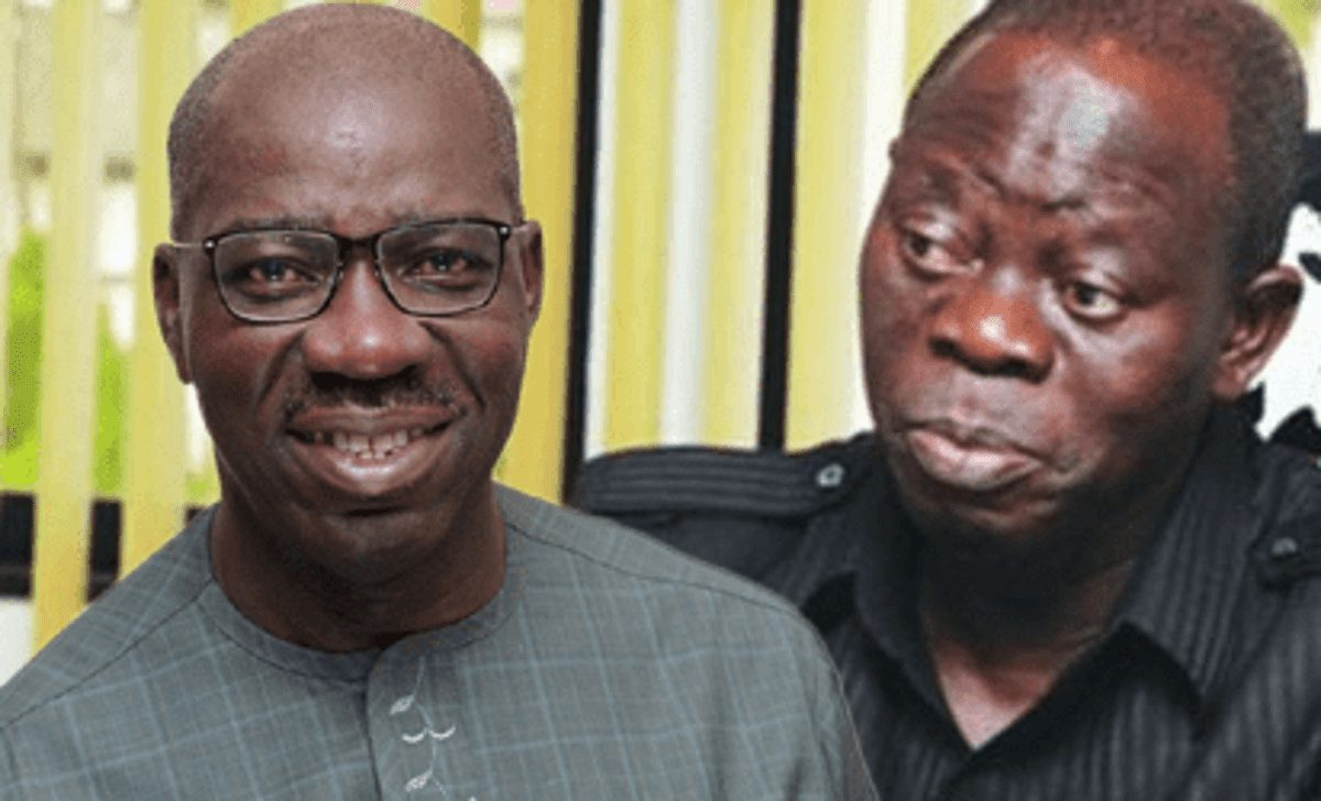 Photo of Am not behind the travails of Oshiomhole – Gov Obaseki