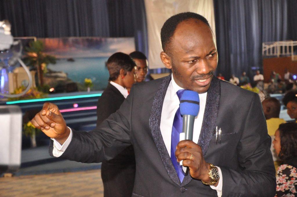 Photo of Apostle Suleman reacts over Adeboye's marriage comment on Twitter