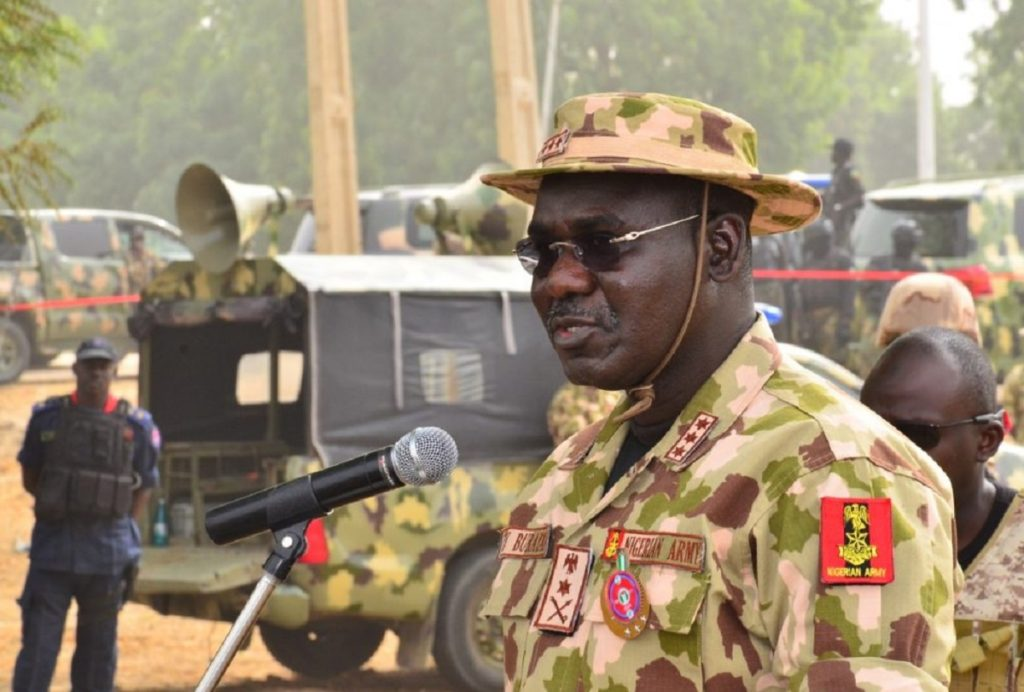 Photo of Monguno Vs Kyari: Buratai Withdraws Army Officers Attached To NSA