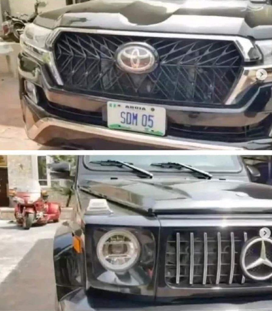 Photo of Dino Maleye acquired two cars worth 1 Billion Naira
