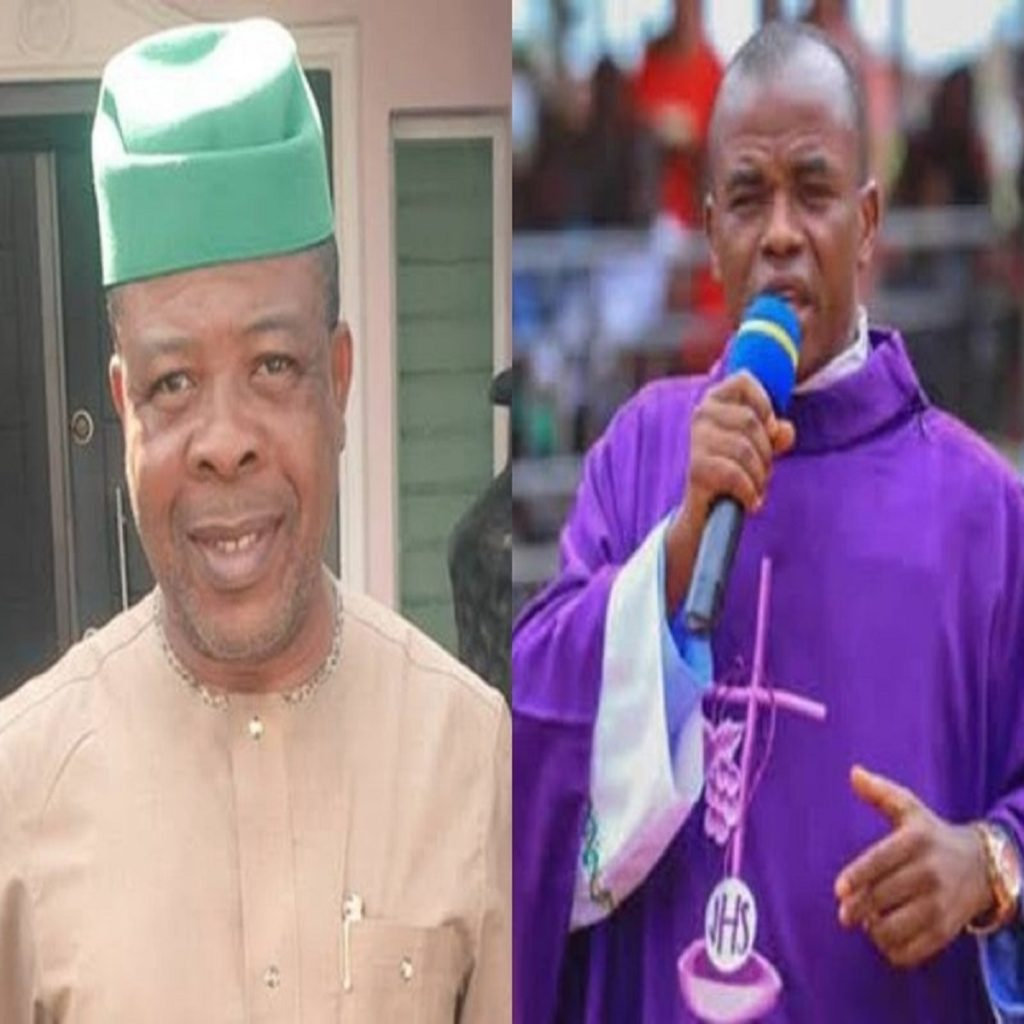 Photo of Re: Supreme Court: Fr. Mbaka called me on the phone and pleaded –Ihedioha