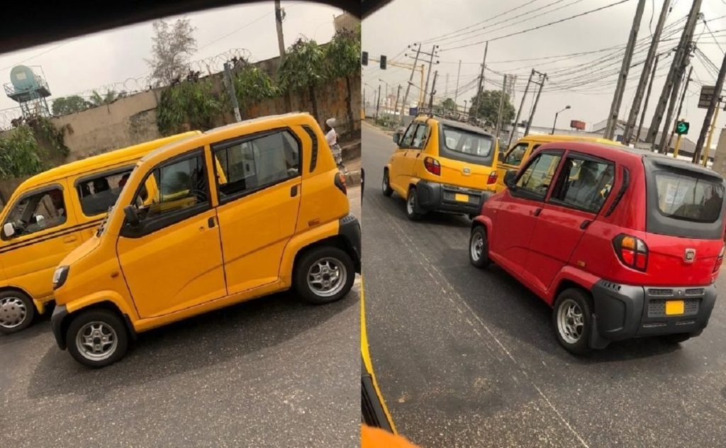 Mini cars hit lagos