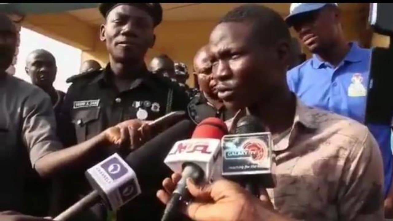 Photo of VIDEO: I am supposed to be a pastor at Winners Chapel – Suicide bomber, Nathaniel Samuel reveals