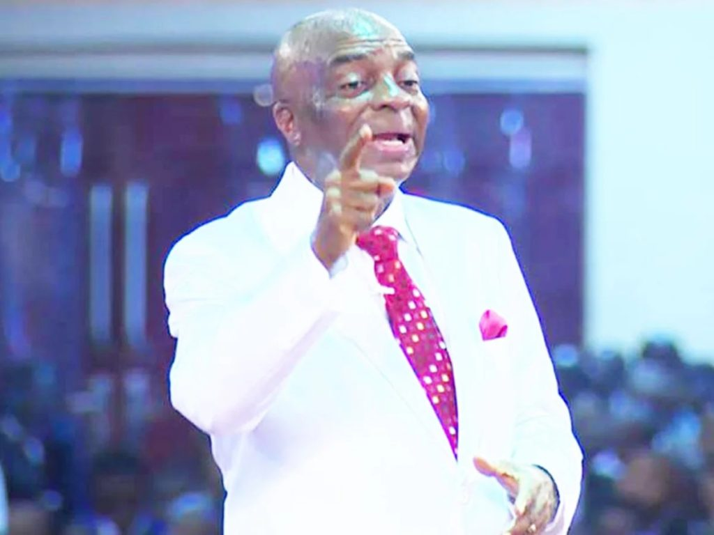 Photo of Bishop Oyedepo 'rains' curses on suspected bomber, Boko Haram, Miyetti Allah