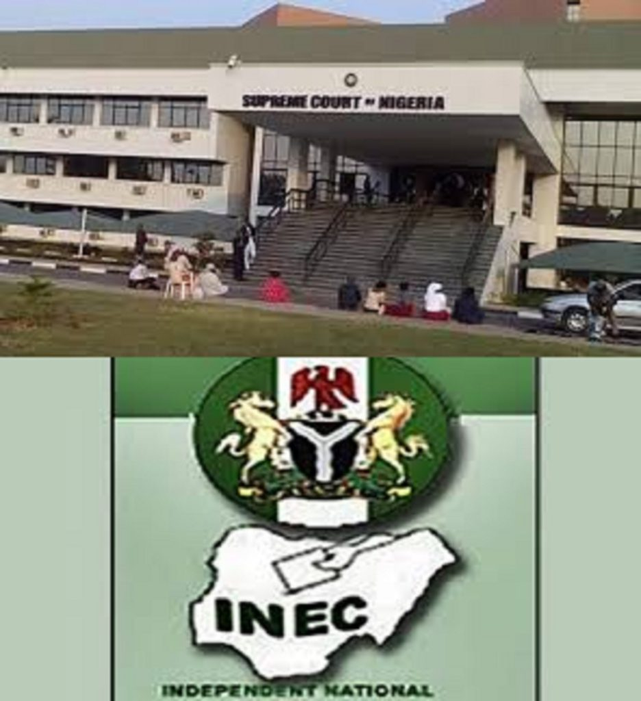 Photo of INEC is the Referee, Supreme Court is the VAR