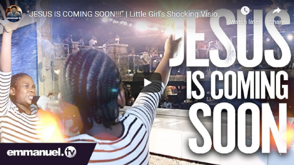 Photo of VIDEO: 12-year-old girl shocking vision of Jesus in TB Joshua's Church