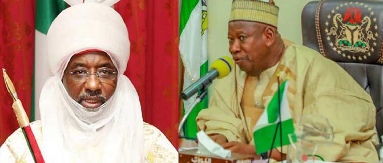 Photo of Deposed Emir Sanusi To Be Denied Access To Visitors – Ganduje
