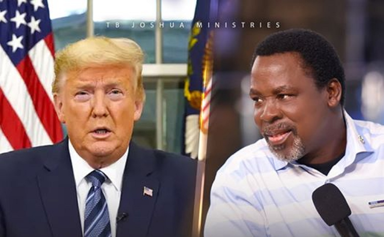 Photo of T.B Joshua reveals what will happen to America over Coronavirus