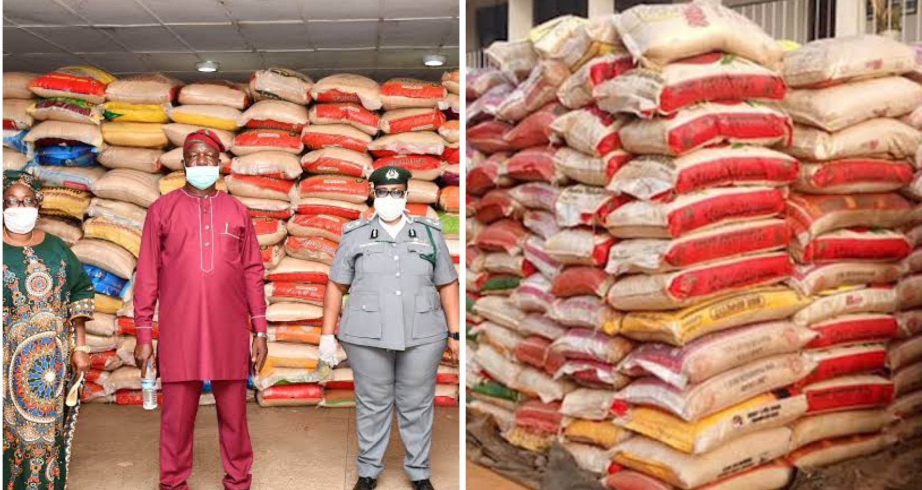 Photo of Drama as Customs rejects 1,800 bags of rice returned by Oyo govt