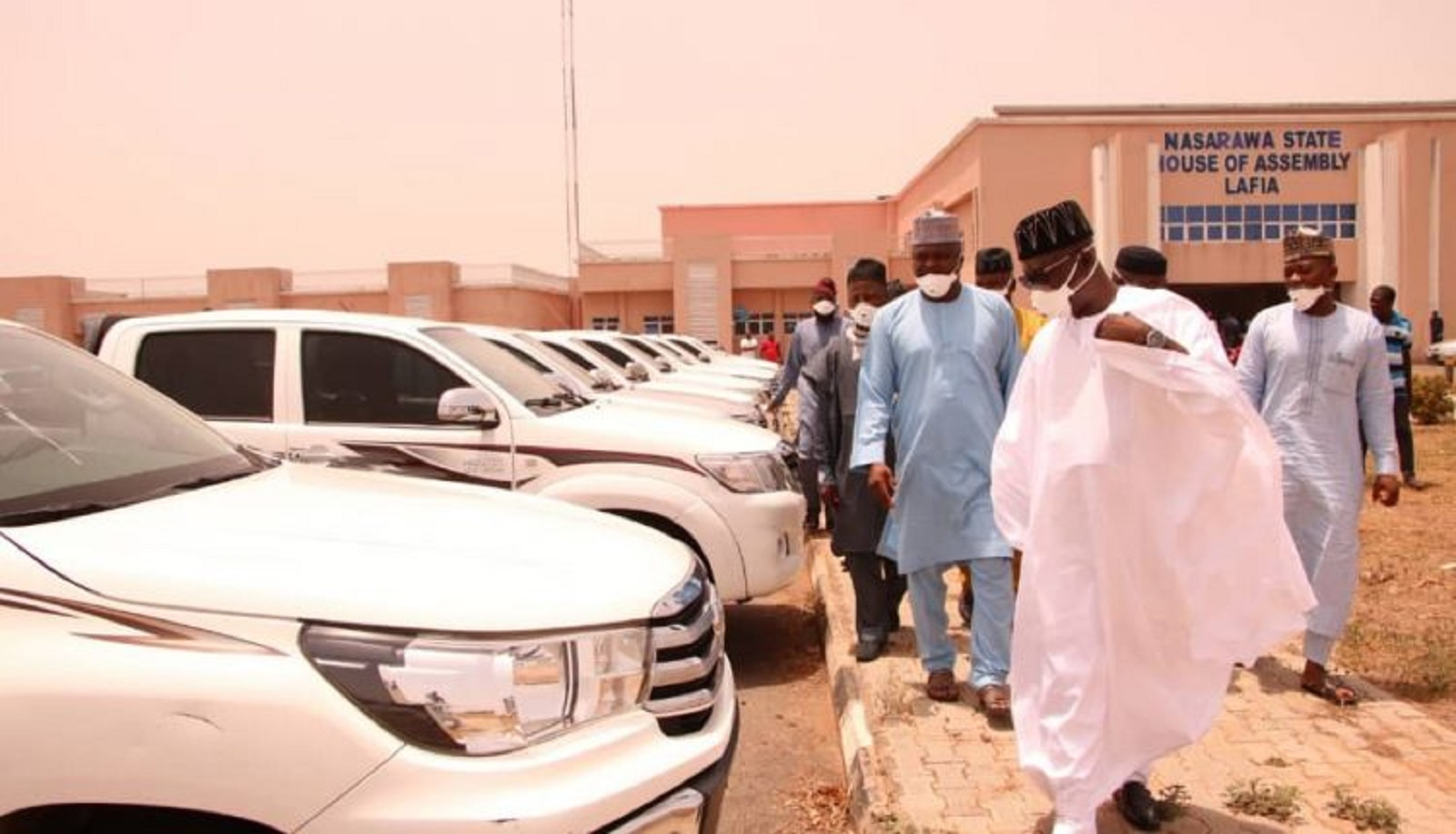Nassara governor buys N504m car to lwamakers