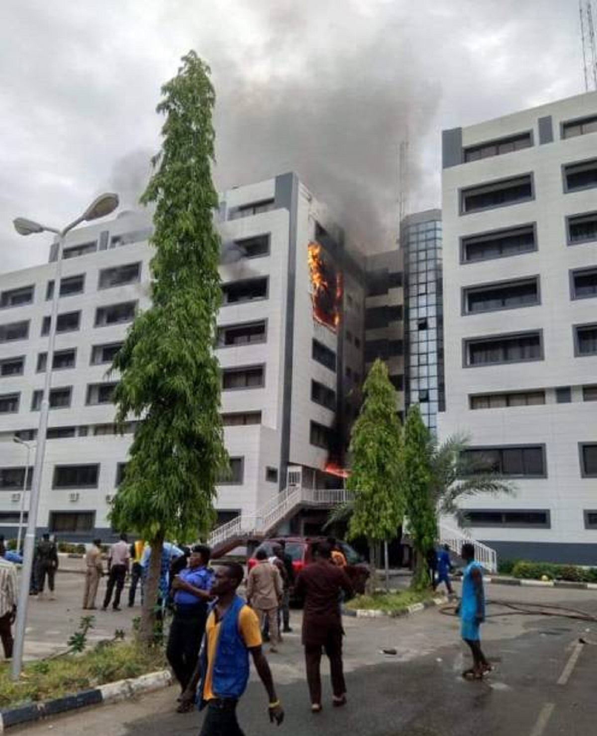 Photo of BREAKING: Accountant General of Federation Office in Abuja on Fire
