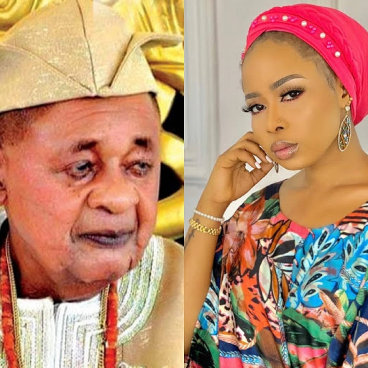 Photo of Alaafin chases his queen out of the palace