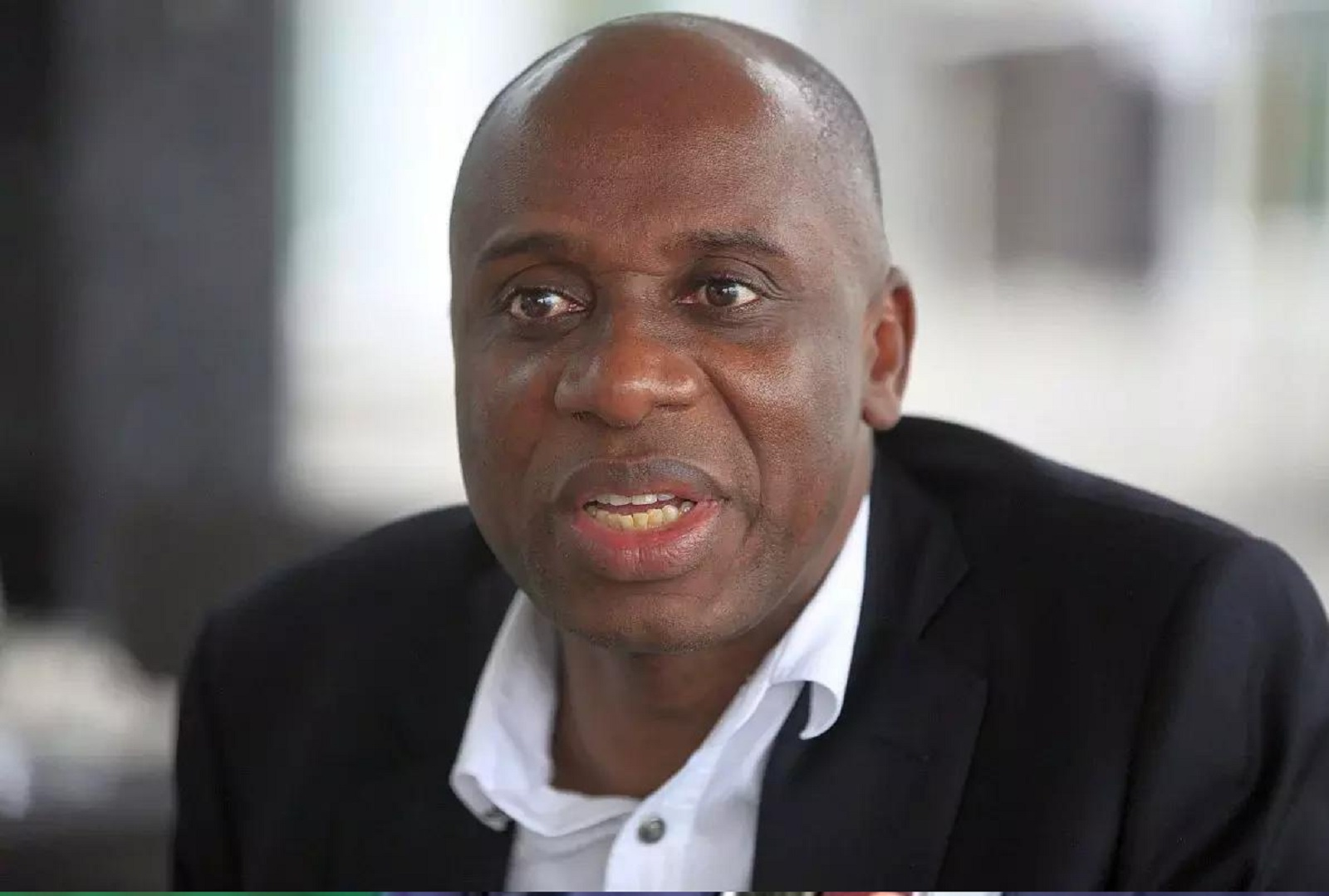 Photo of Buhari is a 'shy person' – Rotimi Amaechi
