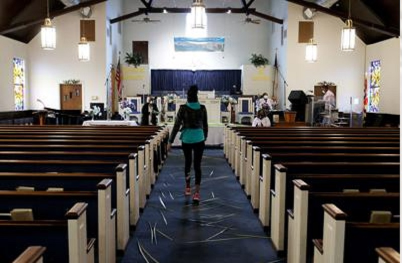 Photo of Lockdown: Churches hold Palm Sunday services