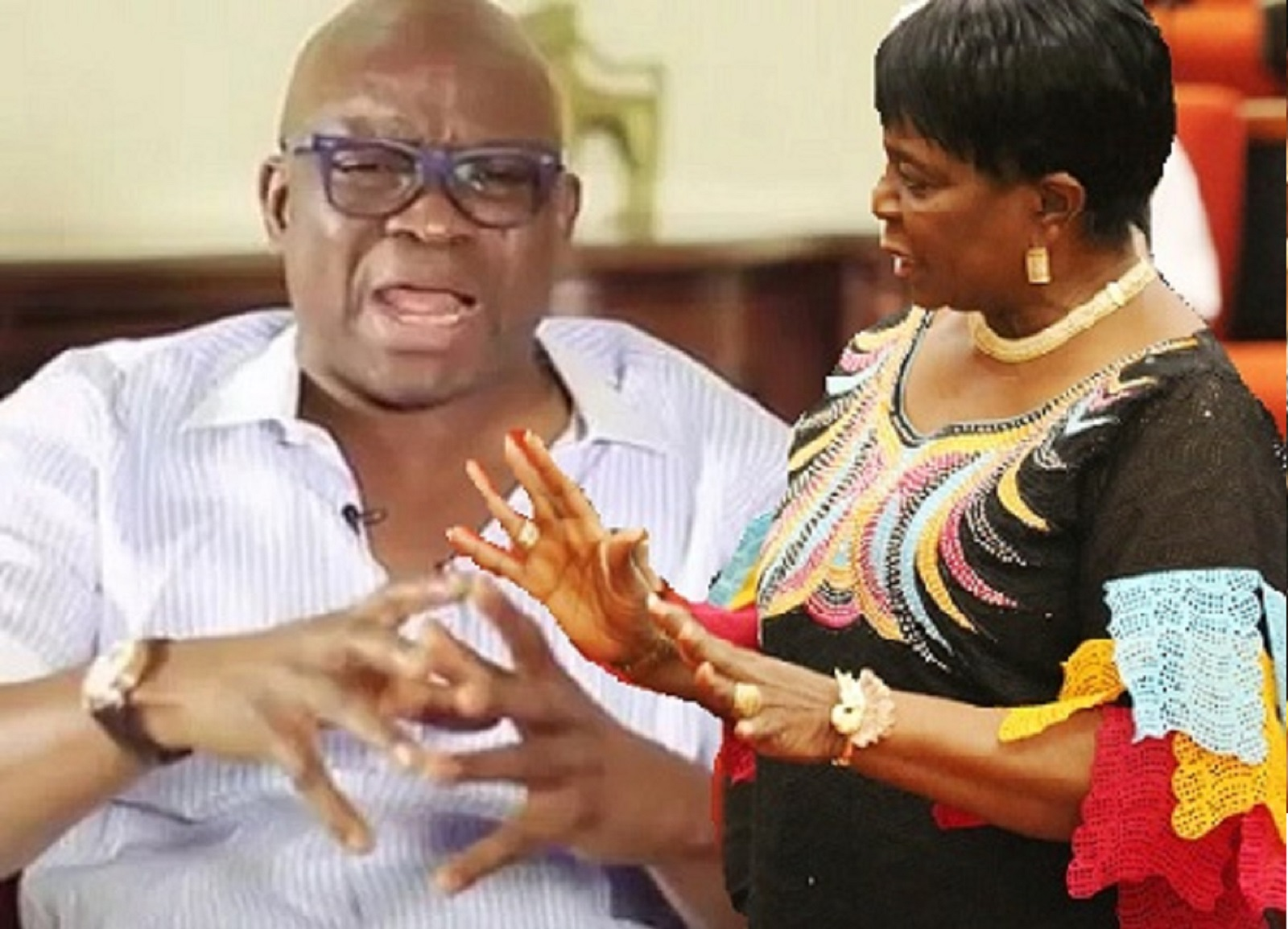 Fayose and Olujimi