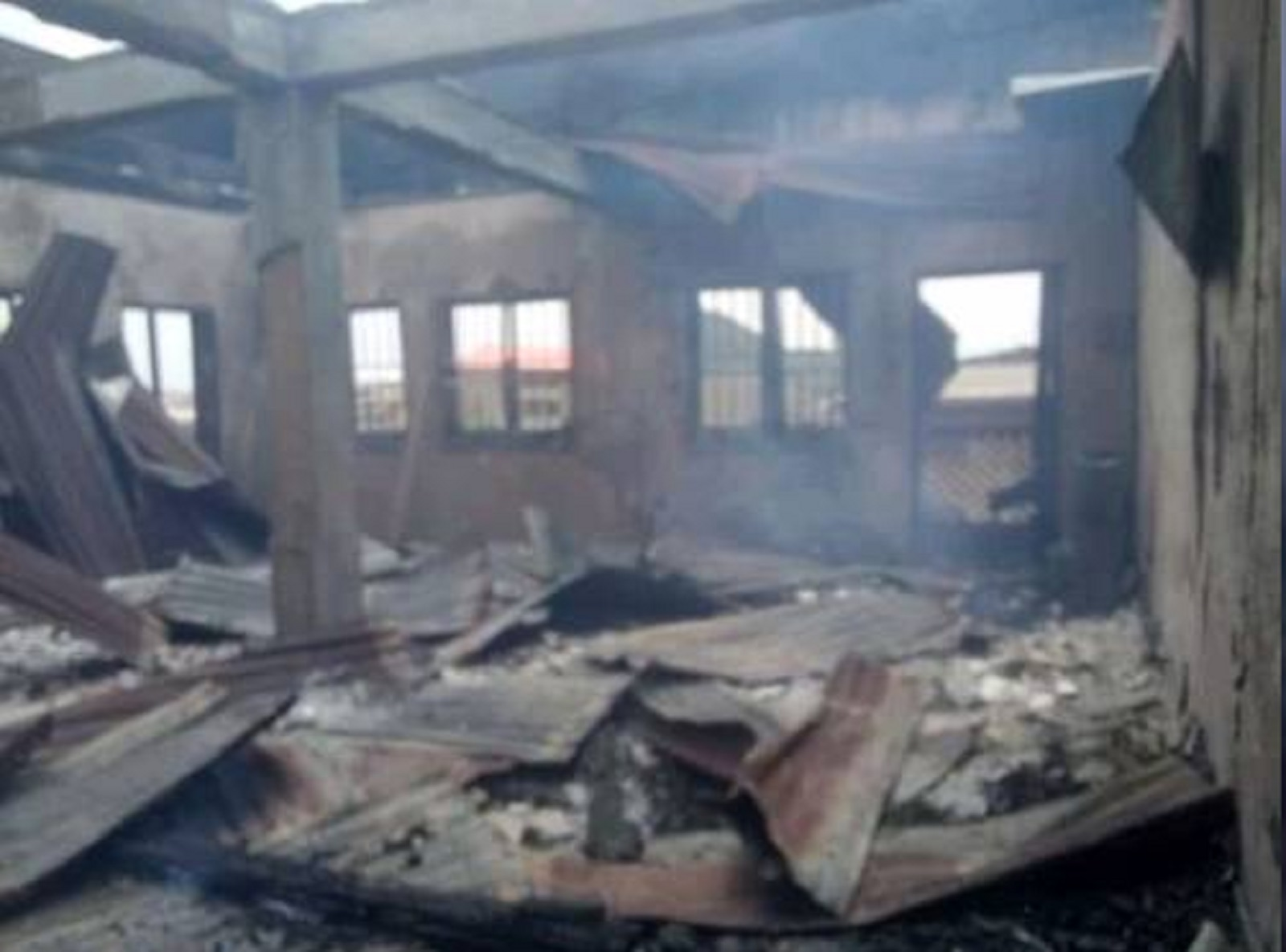 Photo of Fire Razes Radio Station of Oyo Government Critic in Ibadan