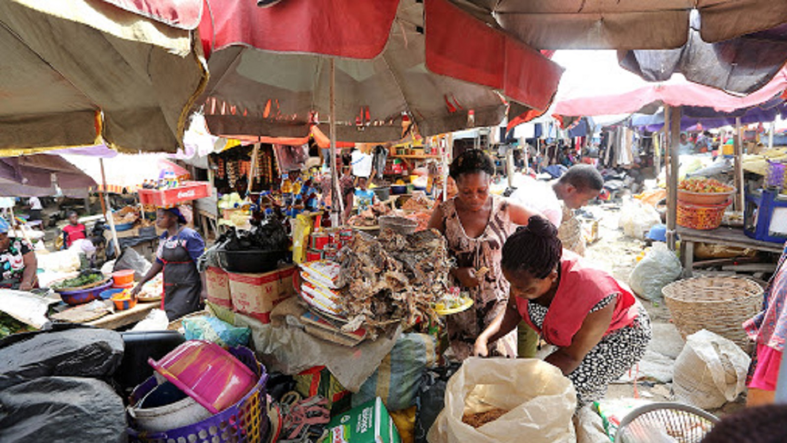 Photo of COVID-19: Market shut as traders boo governor