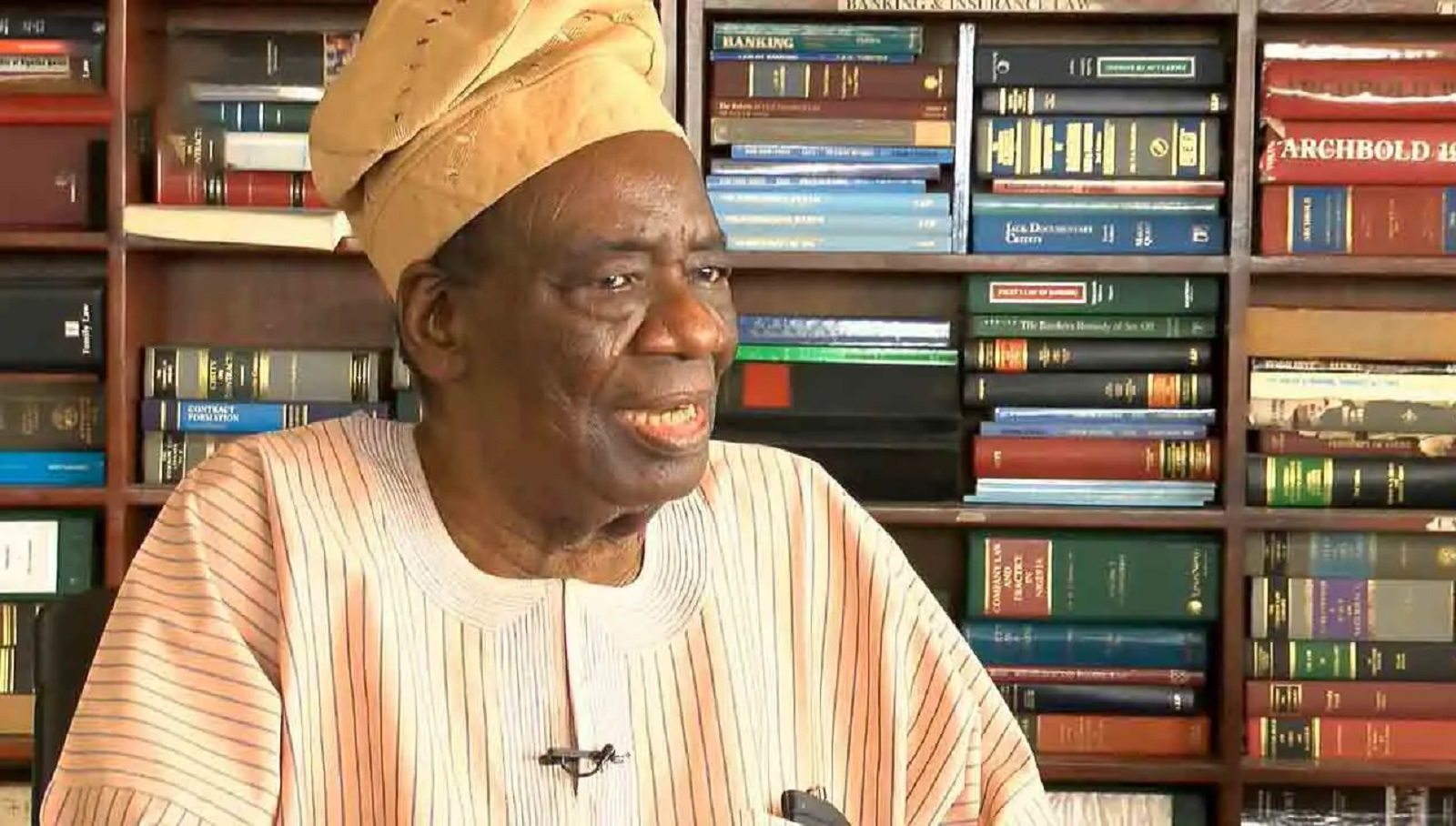 Photo of Ex-Minister, Chief Richard Akinjide, is dead
