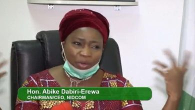 Photo of VIDEO: Buhari's Minister Asks Gunmen to Chase Abike Dabiri-Erewa, Other NIDCOM Staff from Office Complex in Abuja