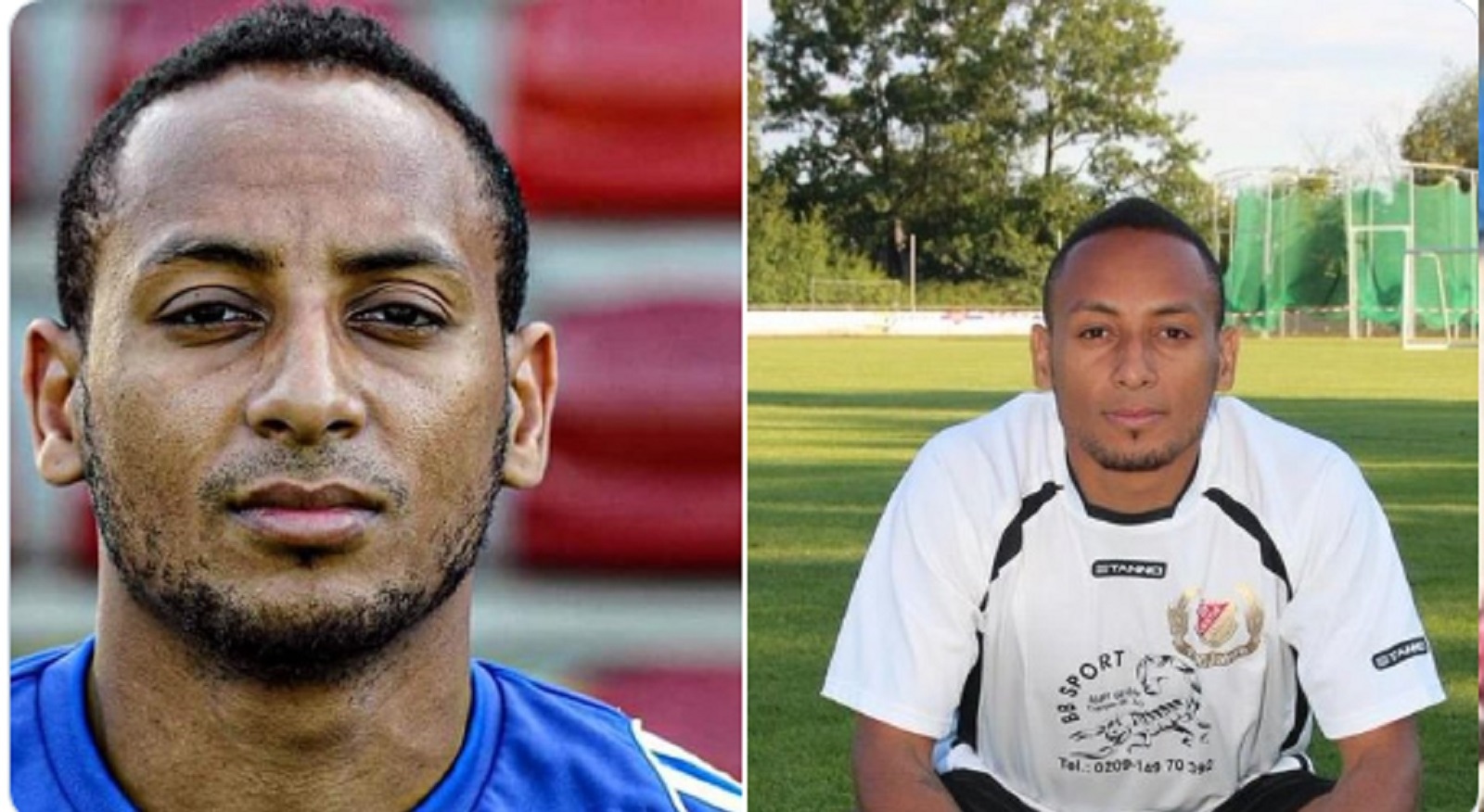 Photo of Schalke player, Hiannick Kamba alive in Germany 4 years after he was reported dead